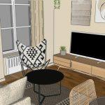3d d'un appartement pour un investissement immobilier